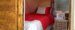 Camping Pods and Log Cabins at red dragon holidays