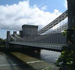 Conwy Suspension Bridge & Toll House